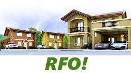 RFO Units for Sale in Camella Urdaneta.